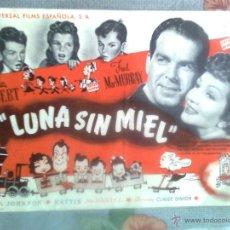 Cine: LUNA SIN MIEL-1948-CLAUDETTE COLBERT-FRED MACMURRAY-OPORTUNIDAD-1894. Lote 43519470