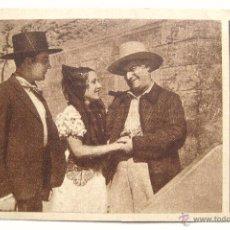 Cine: PROGRAMA TARJETA *CARCELERAS* 1933 RAQUEL RODRIGO JOSE LUIS LLORENT. NUEVO TEATRO ZAMORA. Lote 43647497