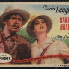 Cine: P-4050- BANDERA AMARILLA (CHARLES LAUGHTON - ELSA LANCHESTER - ROBERT NEWTON). Lote 43701183