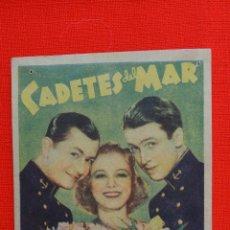 Cine: CADETES DEL MAR, SENCILLO ROGINAL, ROBERT YOUNG JAMES STEWARD, SIN PUBLICIDAD. Lote 43736130