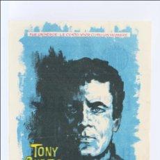 Programa de Cine - El Sexto Héroe - Tony Curtis - Publicidad al Dorso - 15 x 10,5 Cm