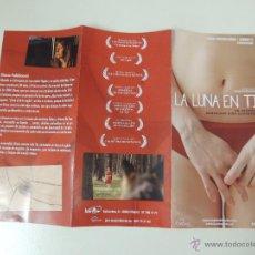 Cine: FOLLETO DE MANO MODERNO LA LUNA EN TI - DIANA FABIANOVA - DOCUMENTAL. Lote 43907579