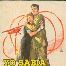 Cine: YO SABIA DEMASIADO. Lote 43993772