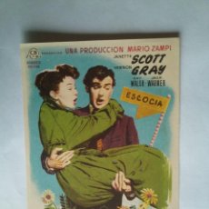 Folhetos de mão de filmes antigos de cinema: PROGRAMA DE CINE - AHORA Y SIEMPRE - SIN PUBLICIDAD -. Lote 43997903