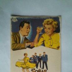 Folhetos de mão de filmes antigos de cinema: PROGRAMA DE CINE - SOÑAR NO CUESTA DINERO - SIN PUBLICIDAD -. Lote 43997917
