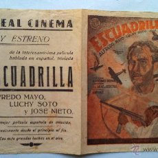 Cine: PROGRAMA DOBLE--ESCUADRILLA. Lote 44004183