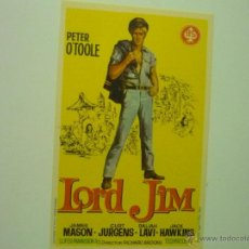 Cine: PROGRAMA LORD JIM.-PETER O´TOOLE. Lote 44011496