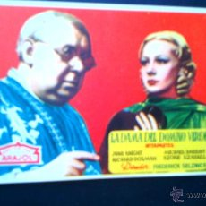Cine: LA DAMA DOMINO VERDE. Lote 44057440