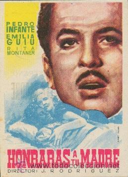 HONRARAS A TU MADRE (Cine - Folletos de Mano - Musicales)