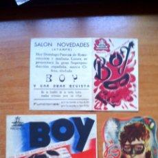Cine: BOY--TRES MODELOS. Lote 44160964