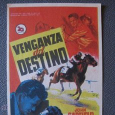 Cinema - VENGANZA DEL DESTINO - SIN PUBLICIDAD - 44198897