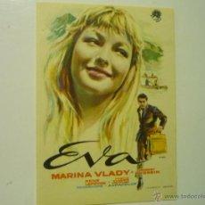 Cine: PROGRAMA EVA .-MARINA VLADY. Lote 44208637