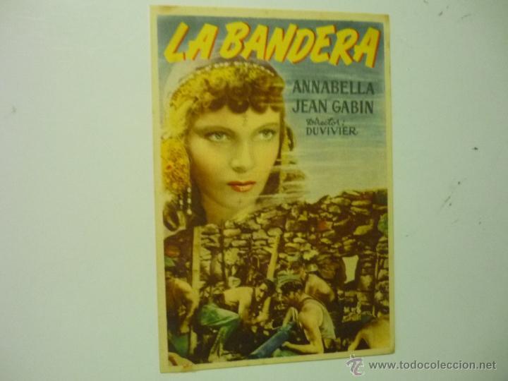 PROGRAMA LA BANDERA.- ANNABELLA (Cine - Folletos de Mano - Acción)