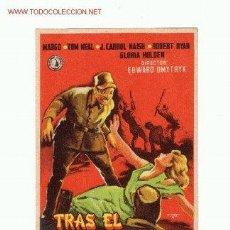 Cine: -56336 PROSPECTO DE CINE TRAS EL SOL NACIENTE,CON TOM NEAL Y GLORIA HOLDEN. DIRECTOR EDWARD DMYTRYK . Lote 44283182