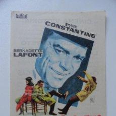 Cine - PROGRAMA DE MANO CINE SERVICIO SECRETO 1965 - 44287081