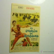 Cine: PROGRAMA EL LADRON DE BAGDAD.-STEVE REEVES-. Lote 107749250