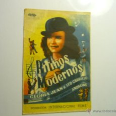 Cinema - programa ritmos modernos..-gloria jean -publicidad - 44337469