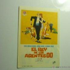Folhetos de mão de filmes antigos de cinema: PROGRAMA EL REY DE LOS AGENTES 00 - ERIC MORECAMBE. Lote 44337503