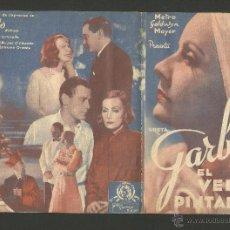 Cine: EL VELO PINTADO - DOBLE - GRETA GARBO - CINE EUTERPE - (C-1464). Lote 44421025
