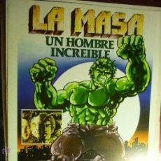 Foglietti di film di film antichi di cinema: GUIA DOBLE LA MASA .- LOU FERRIGNO. Lote 44647612