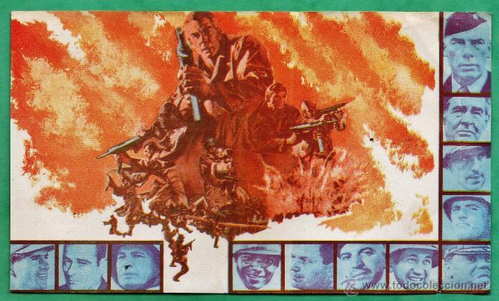 Cine: folleto mano - doce del patibulo - lee marvin / e. borgnine / ch. bronson -doble / foto - años 60 at - Foto 2 - 44660560
