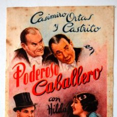 Cine: ARAJOL * PODEROSO CABALLERO * CASIMIRO ORTAS * CASTRITO * CINE ACTUALIDADES * MAHON. Lote 44758903