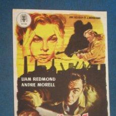 Cine: PROGRAMA DE MANO . ALTA TRAICION , SIN PUBLICIDAD . . Lote 44865963