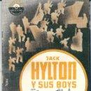 Cine: ESTO ES MUSICA CON JACK HYLTON DE 1940 EXCELENTE CONSERVACIÓN. Lote 44891197