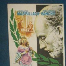 Cine: PROGRAMA DE MANO . SALTO A LA GLORIA , SIN PUBLICIDAD . . Lote 44911782