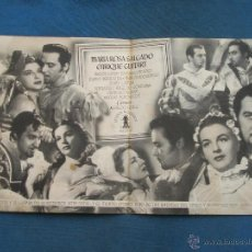 Cine: PROGRAMA DE MANO DOBLE . DON JUAN , CON PUBLICIDAD . . Lote 44922311