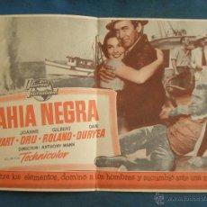 Folhetos de mão de filmes antigos de cinema: PROGRAMA DE MANO . BAHIA NEGRA , 21CM X 14 CM , SIN PUBLICIDAD .. Lote 195256838