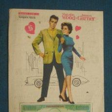 Foglietti di film di film antichi di cinema: PROGRAMA DE MANO . EL POTENTADO . CON PUBLICIDAD .( VER FOTO ADICIONAL ). . Lote 44992529