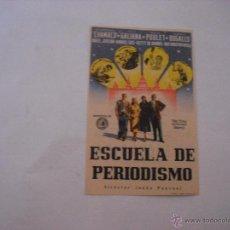 Cine: ESCUELA DE PERIODISMO. CINE SPRING. Lote 44999731