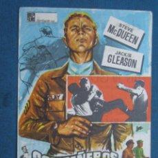 Flyers Publicitaires de films Anciens: PROGRAMA DE MANO . COMPAÑEROS DE ARMAS Y PUÑETAZOS , CON PUBLICIDAD - ( VER FOTO ). . Lote 45047830