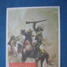 Cine: PROGRAMA DE MANO . HORIZONTES DE SANGRE . SIN PUBLICIDAD . . Lote 45053911