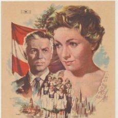 Cine: LA FAMILIA TRAPP. SENCILLO DE MUNDIAL FILMS. CINE REX - CASTELLÓN 1958.. Lote 45183567