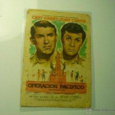 Cine: PROGRAMA OPERACION PACIFICO . CARY GRANT.- PUBLICIDAD. Lote 45265689