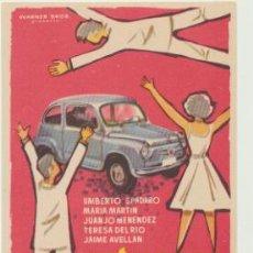 Flyers Publicitaires de films Anciens: YA TENEMOS COCHE. SENCILLO DE WB.. Lote 45370519