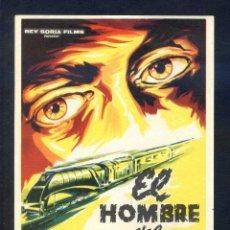 Cine: *EL HOMBRE DEL EXPRESO DE ORIENTE* CON GERMAN COBOS. SENCILLO, GRANDE, SIN PUBLICIDAD.. Lote 45470258