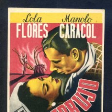 Cine: *EMBRUJO* CON LOLA FLORES Y MANOLO CARACOL. SENCILLO, SIN PUBLICIDAD.. Lote 45470300