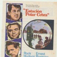 Cine: ESTACIÓN POLAR CEBRA. SENCILLO DE MGM. MAJESTIC CINEMA 1970.. Lote 45534886