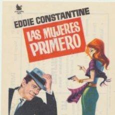 Cine: LAS MUJERES PRIMERO.SENCILLO DE INTERPENINSULAR. IMPERIAL CINEMA - CALLOSA DE SEGURA. Lote 45541771