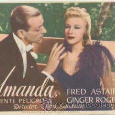 Cine: AMANDA. SENCILLO DE ASTORIA FILMS. . Lote 45606175