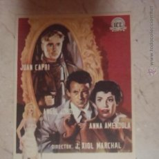 Cine: FOLLETO DE MANO AVENIDA ROMA 66.SP.. Lote 45709554
