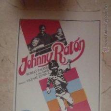 Cine: FOLLETO DE MANO JOHNNY RATON.SP.. Lote 45709564