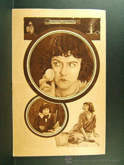 Cine: EL COFRE DE LA ESPERANZA-E.CLIFTON-DOROTHY GISH-CINE COLISEO IMPERIAL-GERONA-ESTRENO-RARISIMO-1921 - Foto 2 - 45686145