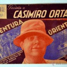 Cine: EN AVENTURA ORIENTAL FOLLETO DE MANO ANTIGUO * TEATRO BALEAR . Lote 45728867