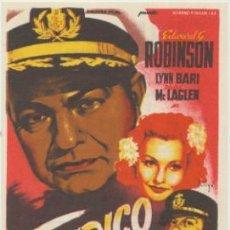 Cine: TAMPICO. SOLIGÓ. SENCILLO DE 20TH CENTURY FOX. CINE MARI - LEÓN 1946. ¡IMPECABLE!. Lote 45914761