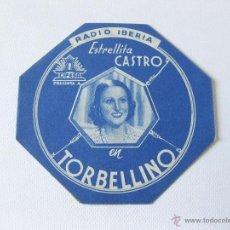 Cine: FOLLETO DE MANO SIN IMPRIMIR EL CINE DE LA PELICULA TORBELLINO. ESTRELLITA CASTRO. Lote 45960297