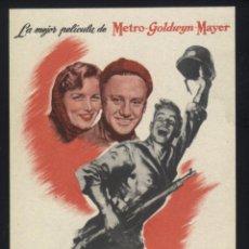 Cine: P-4531- FUEGO EN LA NIEVE (AN JOHNSON - JOHN HODIAK - RICARDO MONTALBAN - GEORGE MURPHY). Lote 45984114